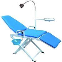 Portable Dental Chair Cold Light + Cuspidor Tray Dentistry ...