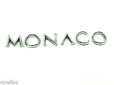 Genuine New RENAULT MONACO BADGE Emblem For Megane Mk2 II