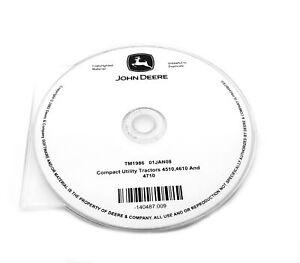John Deere 4510/4610/4710 Compact Utility Tractor