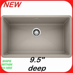 https www ebay com itm blanco precis 32 undermount kitchen sink silgranit grey 154013159044