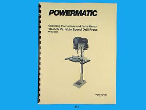 Powermatic 2800 Drill Press