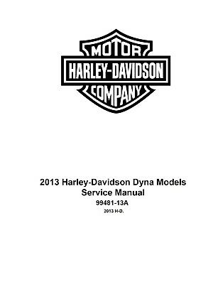 2013 Harley Davidson Dyna Models Service & Electrical