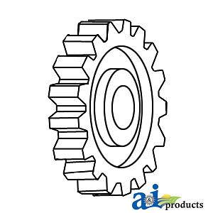 A-31171353 Massey Ferguson Parts GEAR CAMSHAFT 194 , 275