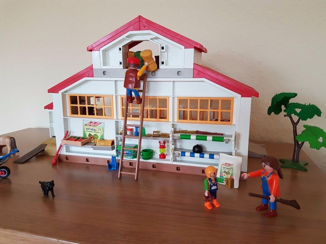 Playmobil Großes Puppenhaus Bauanleitung Aufbauanleitung