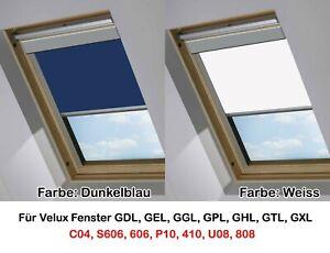 details zu dachfenster rollo verdunkelung thermo velux u08 passend auch fur u04 kurzbar