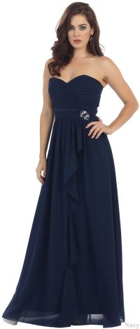 CUTE SIMPLE BRIDESMAIDS EVENING GOWN FORMAL PROM DINNER ...