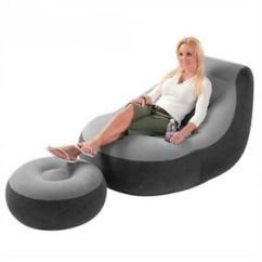 Adult Gaming Chair Gym Exercise System New Inflatable Large Bean Bag Indoor Outdoor Image Is Loading