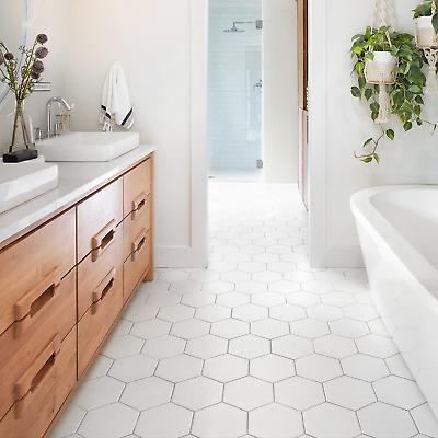 tile samples honeycomb matt white hexagon bathroom kitchen wall floor tiles ebay