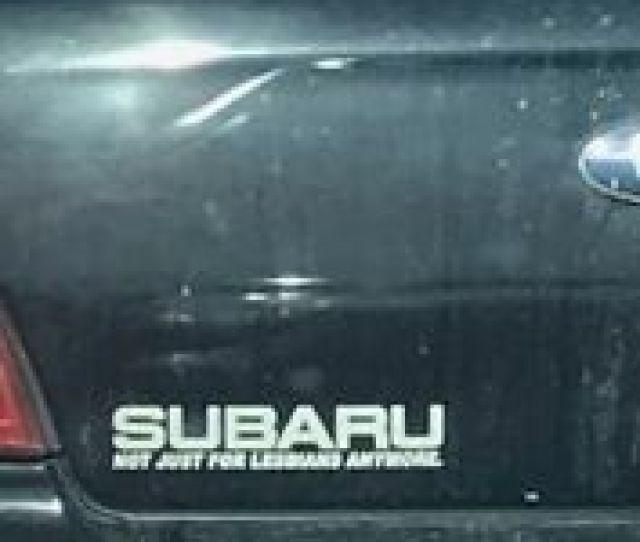 Item 1 Subaru Not Just For Lesbians Decal Flat 4 Wrx Sti Wagon Rumble Buy2get1free Subaru Not Just For Lesbians Decal Flat 4 Wrx Sti Wagon Rumble