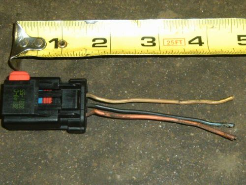 small resolution of wiring connector pigtail harness 3 terminal pin for chrysler dodge mitsubishi