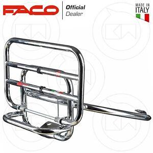 Rear rack trunk chrome vespa Spring 50 125 150 2013 > 2019