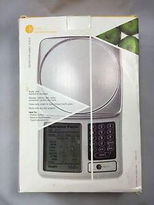 kitchen calculator tin backsplash for nutrition label scale by kitrics digital food image is loading