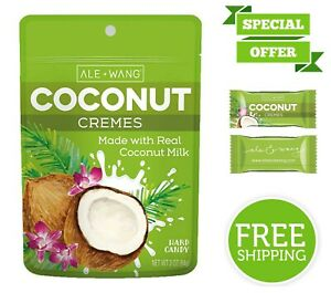 Coconut Cremes Mouth-Watering Hard Candy Made with 100% ...
