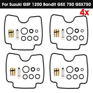 4X Carburetor Repair Rebuild Kit Fit For Suzuki GSF 1200