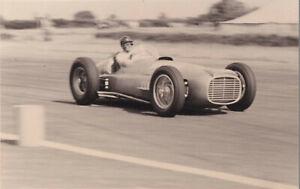 B.R.M. DRIVEN BY KEN WHARTON, THE FORMULA LIBRE RACE SILVERSTONE 1952 PHOTOGRAPH