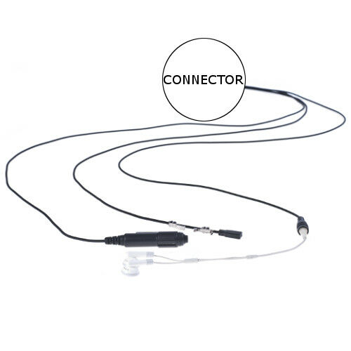Impact MC2-P3W-3.5 Undercover 3-Wire Headset for M/A Com