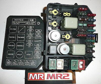 fuse box toyota mr2 wiring diagram