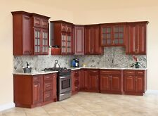 kitchen cabinets wood appliances package 10x10 all solid cherryville rta ebay