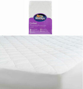 Silentnight Quilted Mattress Protector Nqp For Single Double