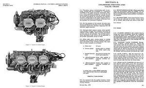 Lycoming O-540 engine manual overhaul repair service