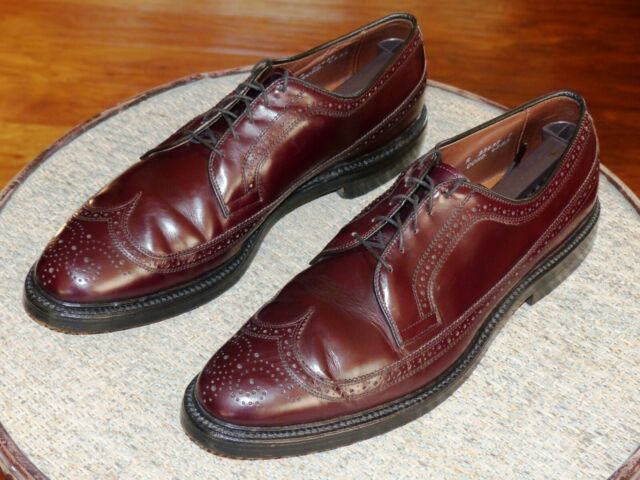 Allen Edmonds MacNeil Brown Leather Men's Wingtip Shoes 11 A Made in USA Fine | eBay