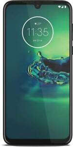 "Moto G8 Plus Blue 64GB 4GB RAM Triple camera Dual Sim 6.3"" Googleplay Phone"