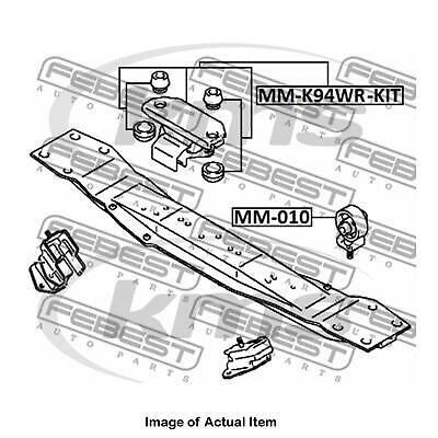New Genuine FEBEST Manual Gearbox Transmission Mounting MM