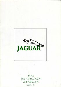 Jaguar & Daimler 1990 XJ40 XJ12 XJ-S full range sales