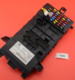 b 14 03 08 hyundai tiburon bcm body control module fuse box 95480 2c320 for sale online [ 1600 x 1063 Pixel ]