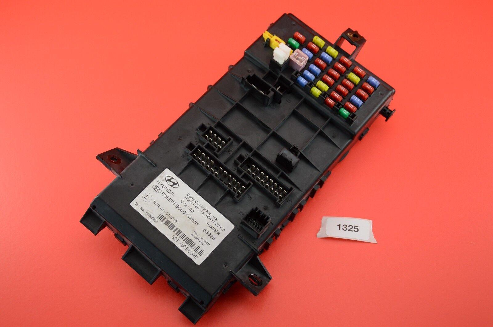 hight resolution of b 14 03 08 hyundai tiburon bcm body control module fuse box 95480 2c320 for sale online