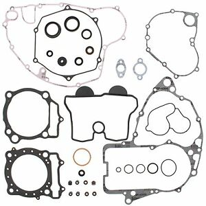 Suzuki RMZ 450, 2005-2007, Complete/Full Gasket Set with