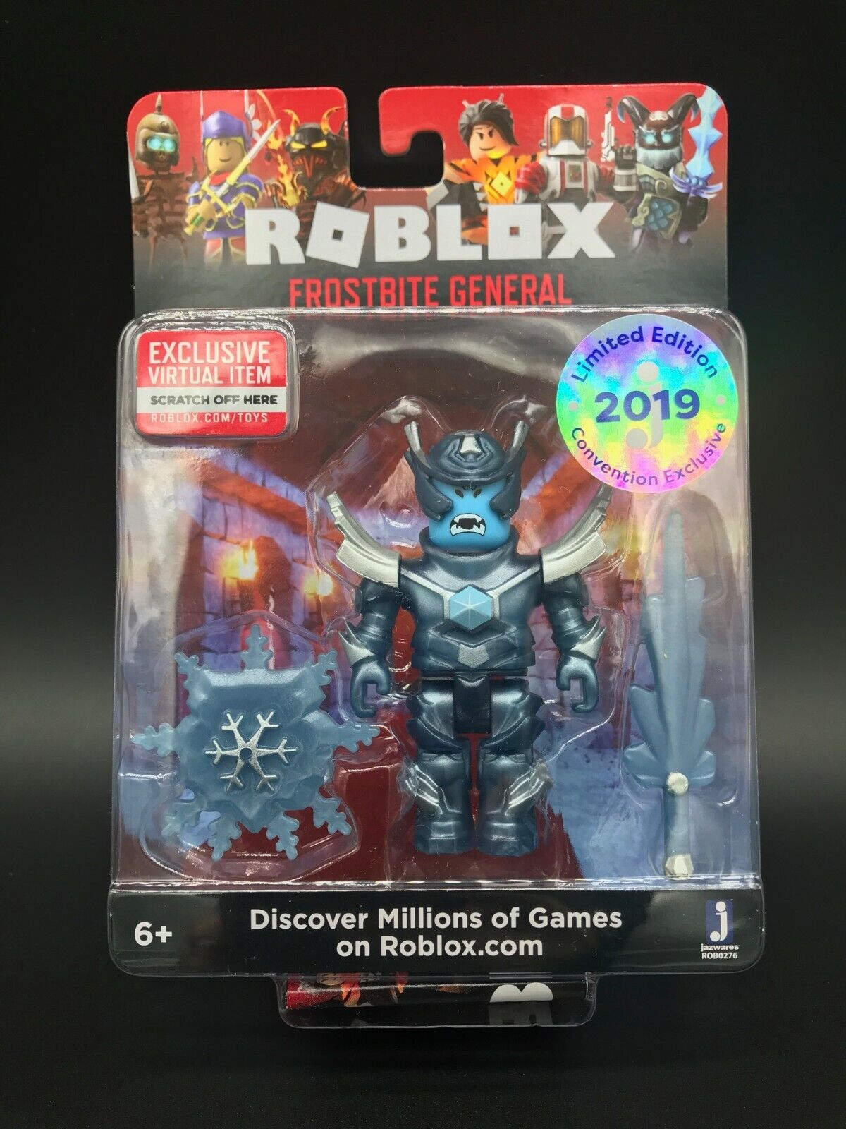 Roblox Toy Codes 2019 : roblox, codes, Gentle, Giant, ROBLOX, Frostbite, General, Figure, Online