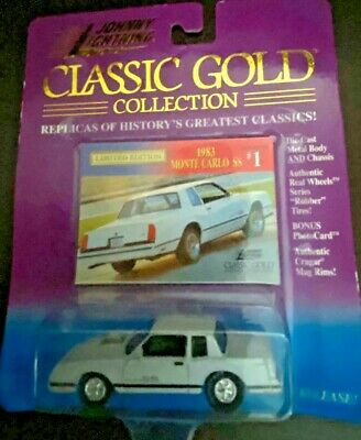 1983 Monte Carlo Ss : monte, carlo, JOHNNY, LIGHTNING, CLASSIC, COLLECTION, MONTE, CARLO, WHITE