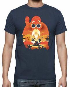 Camiseta Dragon Ball Goku Vegeta Goku Vegeta Mutenroshi tortuga DAdb165 SIL