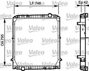 VALEO Engine Cooling Radiator Fits IVECO Eurotech Stralis