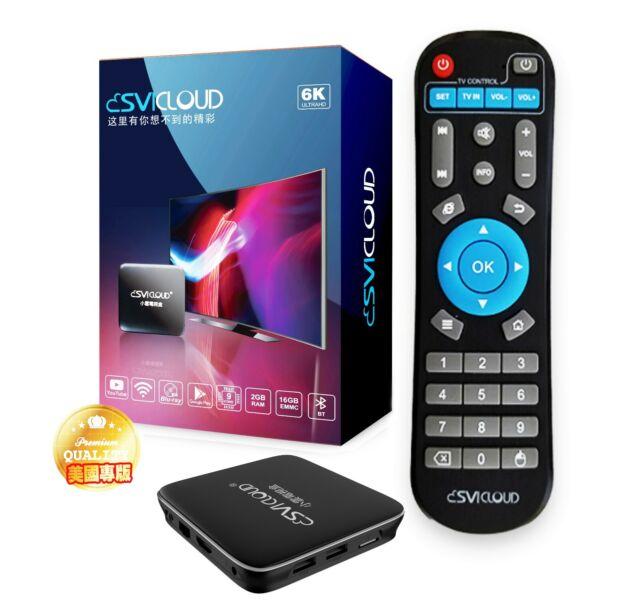 Svicloud BOX 中文電視盒-美國現貨 越獄國際版美國行貨 Unblock Tech 2019 Gen6 UPRO2 I950 OS TV BOX   eBay