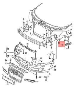 Genuine Guide piece right AUDI Audi A3 S3 Sportback Lim