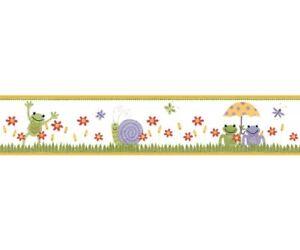 Ufengke® orsi cute baby e fiori ombrello adesivi murali, camera dei bambini vivai adesivi da parete removibili/stickers murali/decorazione murale. Bordo Adesivo Bambini Rane Decorazione Murale Per Camerette E Sale Gioco Ebay