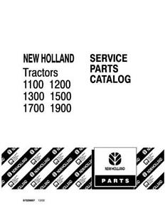 NEW HOLLAND 1100 1200 1300 1500 1700 1900 TRACTOR PARTS