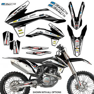 2002 KTM SX 125 250 380 400 520 GRAPHICS KIT DECO DECALS
