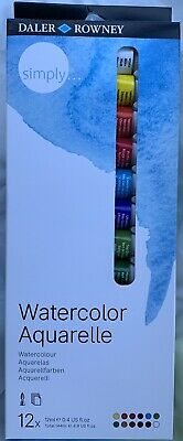 Daler Rowney Watercolor : daler, rowney, watercolor, Watercolor, (Aquarelle)