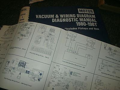 1980 1981 ford bronco f100 f150 f250 f350 wiring vacuum diagrams sheets  set  ebay