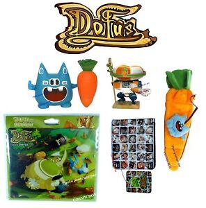 details sur lot figurines wakfu dofus roi wa wabbit twabbit tapis de souris trousse peluche