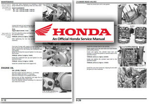 Honda XL700 Transalp Service Workshop Repair Manual Shop