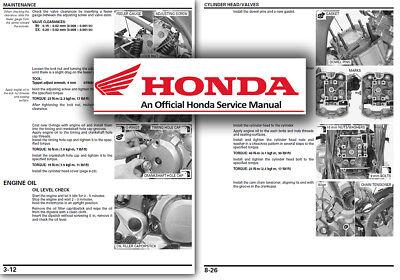 Honda XL700 Transalp Service Workshop Repair Manual Shop