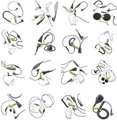 Earpiece for motorola 2 pin radio pentagon-Headsets