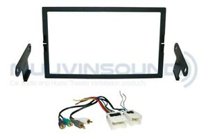 Radio Stereo Mounting Installation Dash Kit Combo 2DIN