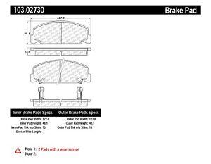 C-TEK Ceramic Brake Pads fits 1984-2000 Honda Civic Civic
