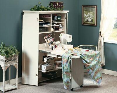Gabinete De Almacenamiento De Informacion Mesa Desplegable Craft Muebles Hagalo Usted Mismo Arte Espacio De Trabajo De Costura Armario Ebay