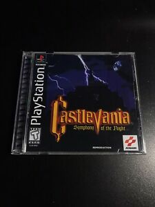 Castlevania Symphony Of The Night : castlevania, symphony, night, Castlevania:, Symphony, Night, Reproduction, Case-